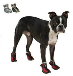 Casual Canine NWT Red Silver WATER RESISTANT SPORTS BOOTS SH