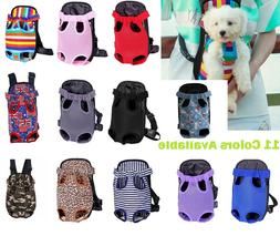 Nylon Mesh Pet Puppy Dog Cat Carrier Backpack Front Net Bag