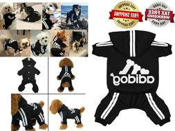 Original Adidog Pet Clothes for Dog Cat Puppy Hoodies Coat W