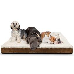 orthopedic dog bed pet lounger deluxe cushion