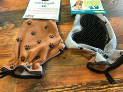 Pampered Paws Grooming Bathing Fur Removal Pet Glove