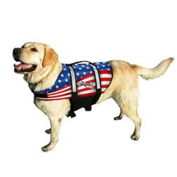 Pawz Pet Dog Life Jacket Dogs Pet Preserver Reflective Vest