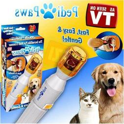 Pedi Paws Nail Trimmer Grinder Grooming Tool Care Clipper Fo