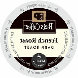 Peet's Coffee French Roast Coffee 22 to 132 Keurig Kcups Pic