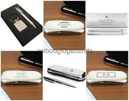 PERSONALISED ENGRAVED Keepsake Pen SET Thank You GIFT Presen