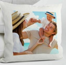 PERSONALIZED Cushion Cover Pillow Case YOUR PHOTO Image Pict