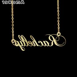 Personalized Custom Name Necklace Nameplate Letter Stainless