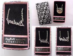 "Personalized Custom Name Necklaces 18"" Chain Marina De Buchi"