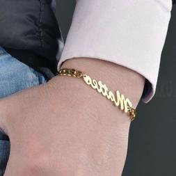 Personalized Customized Stainless Steel Bracelet Cuban Chain