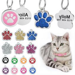 Personalized Dog Tags Custom Engraved Cat Dogs Pet ID Name T