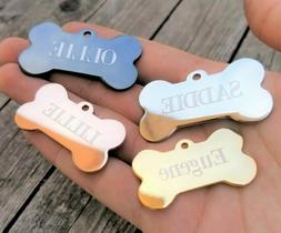 Personalized Dog Tags Engraved Pet ID Tags Dog ID Tag MADE I