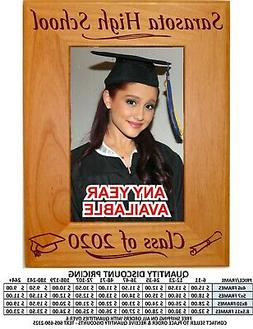Personalized Graduation Picture Frame Graduate Class of 2020