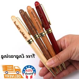 Personalized Maple Wood Ballpoint Pens Name pens.  Custom Na