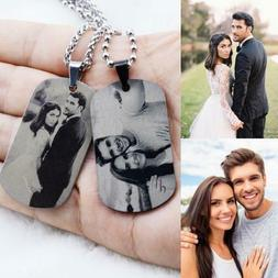 Personalized Master Custom Photo Picture Necklace Valentine'