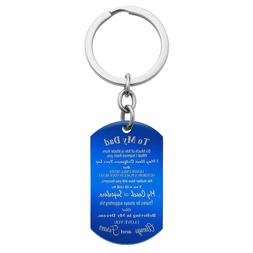 Personalized Photo Text Dog Tag Engrave Daughter Best Dad Me