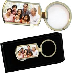 Personalized Printed ANY PHOTO TEXT IMAGE NAME Chrome Metal