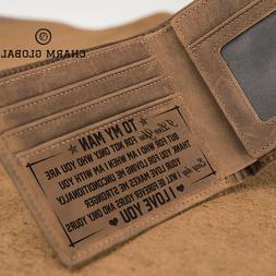 Personalized Wallet For Boyfriend, Personalized Wallet, Wall