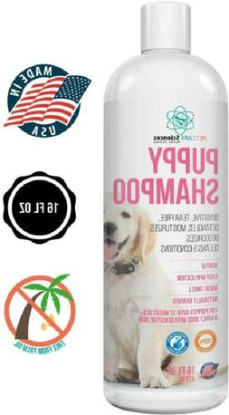 Pet Care Sciences Tearless Puppy Shampoo Gentle And Sensitiv