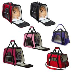 Pet Carrier Bag Travel Case Airline Approved Soft Sided Comf