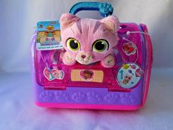 Doc Mcstuffins Pet Carrier Hospital Play Set Toy Plush Cat K