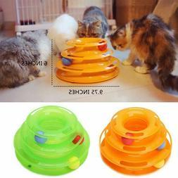 pet cat crazy ball disk interactive toys