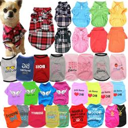 Pet Dog Clothes Puppy T Shirt Clothing For Small Dogs Puppy