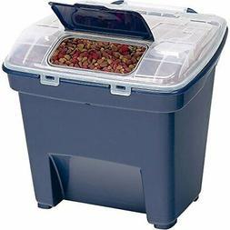 Pet Cat Dog Food Container Storage Bin Animal Feeding, 50lbs