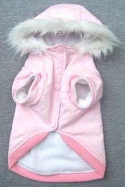 Pet Clothes Apparel Dog Coat Warm Jacket Hoodie COTTON Vest