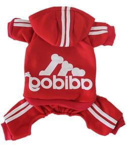 Adidog Pet Clothes XXL Dog Puppy Hoodie Coat Sweatshirt Swea