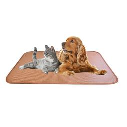 Dimaka Pet Cooling Mat, Cool Down Pad for Dogs and Cats, Nat