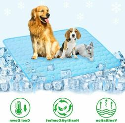 Pet Cooling Mat Non-Toxic Cool Pad Pet Bed For Summer Home C