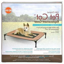 K&H Pet Products Original Pet Cot Replacement Cover Large Ch