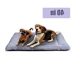 PETSGO Pet Crate Beds Supersoft Dog & Cat Beds for Crates-Ma