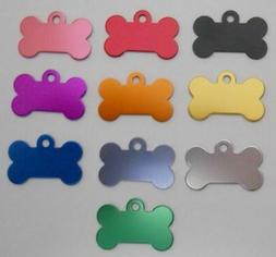 Pet Dog Cat Blank tags Bulk shelters rescues 5 pc lots Med B