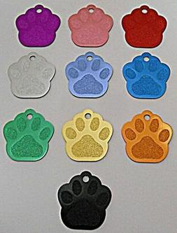 Pet Dog Cat Blank tags Bulk shelters rescues 5 pcs lots Larg