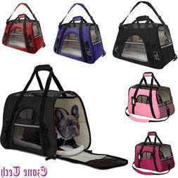Pet Dog Cat Carrier Travel Bag Comfort Case Soft Sided Backp