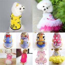 Pet Dog Cat Clothes Puppy T Shirt Clothing For Small Dogs Ch