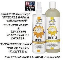 TOP PERFORMANCE GloCoat Grooming Dematting Detangler Pet SHA