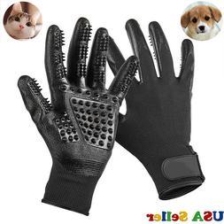 Pet Dog Cat Ninja Grooming Gloves Hair Fur Remover Bathing S