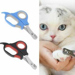 Pet Dog Cat Toe Care Nail Cutter Clippers Scissors Shear Gro