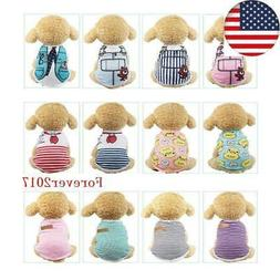 Pet Dog Clothes Summer Puppy T Clothing For Small Dogs Chihu