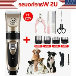 Pet Dog Electrical Hair Trimmer Shaver Professional Hair Cli