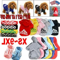 Pet Dog Adidog Hoodies Female/MaleOutfits Apparel Small Dog