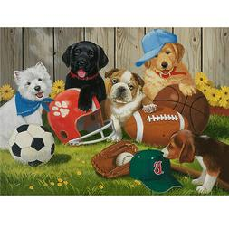 Pet Dog Jigsaw Puzzle 1000 piece Puzzles For Adults Kids Lea