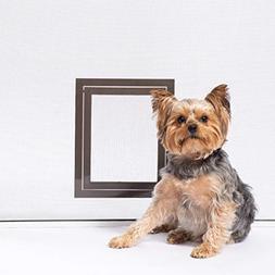 PetSafe Pet Screen Door - Small Dog and Cat Door for Screen