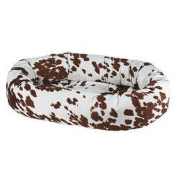 pet durango microvelvet donut bolstered nesting dog