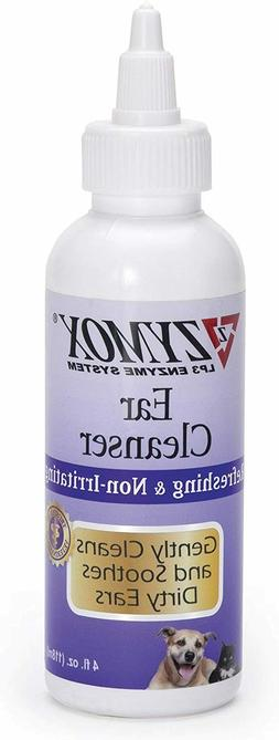 Pet Ears Cleaner Zymox Otic Infection Drops Solution Dog Cat