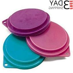 pet food can covers set of 3