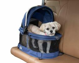 Pet Gear VIEW 360 Dog Cat Pet Carrier Car Seat in One Midnig