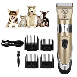 Pet Hair Clipper Grooming Kit Dog Hair Cutting Machine Elect